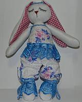 Заяц сплюшка игрушка , необычный подарок ребенку на день рождение