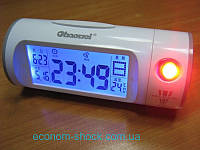 Проекционные звукоуправляемые часы Chaowei CW8097