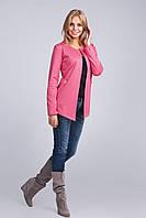 Красивый розовый женский жакет