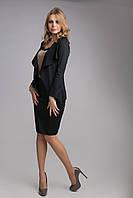 Классический красивый женский жакет черного цвета