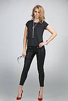 Эффектная женская летняя трикотажная блуза