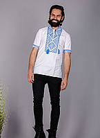 Мужская вышитая рубашка на короткий рукав