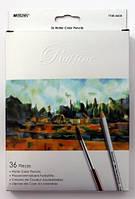 Карандаши цветные Marco Raffine 36 цветов 7120-36 СВ, акварельные