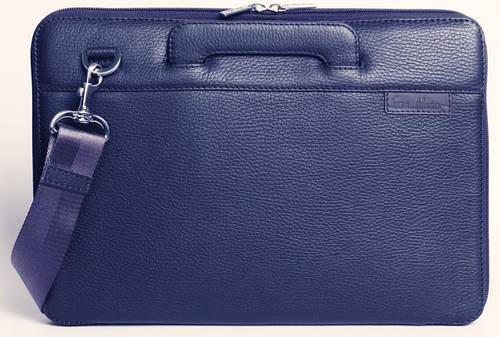 "Необыкновенная сумка для MacBook 13"", натуральная кожа ISSA HARA B13 (13-00) blue"