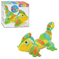 Детский надувной плотик для плавания Intex 56569 Геккон