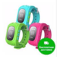 Детские Часы с GPS Треккером и Телефоном. Q50, GW 300, OLED дисплей !