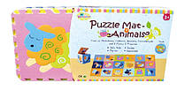 Детский игровой коврик-пазл «Волшебный мир» GB-M1218ABL *ю