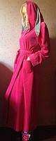 Домашний халат с ушками макси