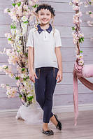 Школьная блузка для девочки sh12