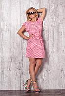 Женское летнее платье модного кроя