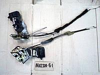 Замок двери передний и задний левый для Mazda 6, АКПП, 2.0i, 2004 г.в. GJ9M59310D, GJ6F73310J