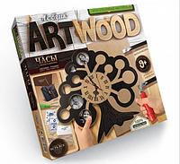 "Набор креативного творчества ""ARTWOOD"" часы с фото рамкой, Дерево"
