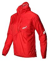 Race Elite Stormshell HZ M Red мужская мембранная куртка для бега