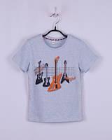 """Детская футболка для мальчика с принтом """"ГИТАРЫ"""""""