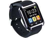 Умные Часы SmartWatch U80 Sport Black черные
