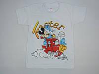 Летняя футболка для девочки 1-3 года
