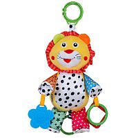 Плюшевая музыкальная игрушка Baby Mix STK-15588LI Лев
