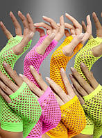Перчатки в сетку