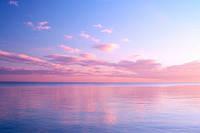 """Фотообои """"Вечерние краски моря"""", Фактурная текстура (холст, иней, декоративная штукатурка)"""
