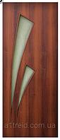 Двери межкомнатные со стеклом Триумф ПО