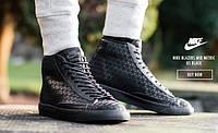 Мужские кроссовки Nike Blazer Mid black