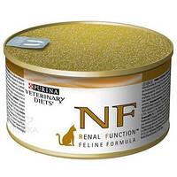 Purina (Пурина) Veterinary Diets NF Renal Feline Консерва для кошек при заболеваниях почек и печени 195 гр