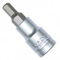 """Шестигранник в держателе 1/2"""", 62 мм, 4 INTERTOOL HT-1904"""