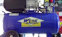 Werk BM 24 поршневой компрессор (200 л/мин., ресивер 24 л), фото 1
