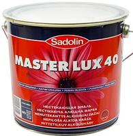 SADOLIN Master Lux 40, 2,5 л (Садолин Мастер Люкс 40)
