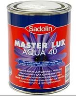 SADOLIN Master Lux Aqua 40, 3х1л (Садолин Мастер Люкс Аква 40)