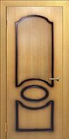 Двери шпонированные миланский орех Виктория
