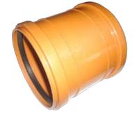 Муфта 160 ПВХ для внешней канализации