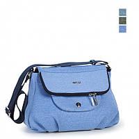 Молодежная сумка текстильная Dolly 645 голубой