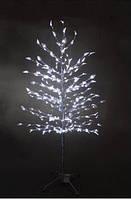 Светодиодное дерево Уличный бонсай 1,5м белое