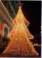 Светодиодный дизайн - декор  Золотая ель 1,8 м