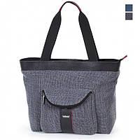 Молодежная сумка текстильная Dolly 469 серый