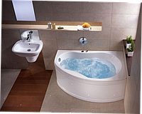 Ванна Promise правая 150*100 с ножками Kolo Коло