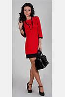 Новинка Стильное Платье красное