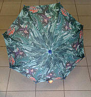 Детский зонт трость, легкий,прочный в зеленом  цвете