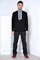 Рубашка с  классическим геометрическим орнаментом