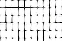 Сетка ограждающая полимерная, 50 г/м2, ячейка 21х21, 1х200м