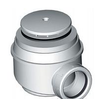 Сифон для душевого поддона белый A47B d50 Alco Plast Алько Пласт