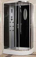 Гидробокс душевой угол Eco Brand 120LТ Black (L) Эко Бренд