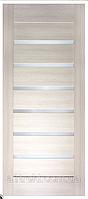 Двери ламинированные ПВХ Лагуна сатин дуб беленый 80см