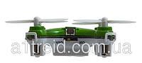 Квадрокоптер нано р/у 2.4Ghz Cheerson CX-10 (зеленый)