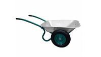 Тачка садовая двухколесная , объем вода/песок 70/140 л, грузоподъемность 120 кг,  вес 14 кг