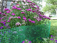 Садовая решетка пластиковая 2,00 х 1,00 Белая, Зеленая