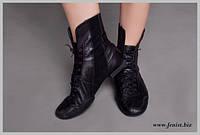 """Обувь для современных танцев """"джазовки"""" высокие (ботинки)"""