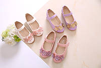 Туфельки для девочки с цветочками
