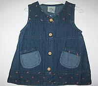 Сарафан джинсовый для девочки